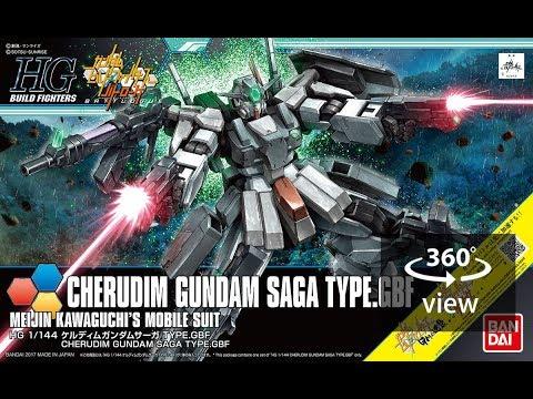 [360°Degree] HGBF 1/144 Cherudim gundam Saga Type.GBF