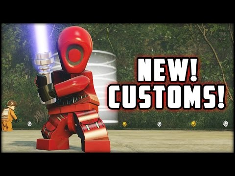 LEGO Star Wars The Force Awakens - Customs - Creating BLITZBOT & The System!