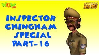 Inspector Chingam Special - Part 16 - Motu Patlu Compilation As seen on Nickelodeon!