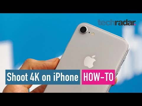 How to shoot 4K video on iPhone 8