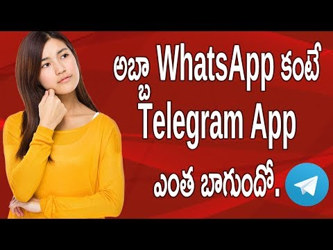 Best Alternative App For WhatsApp Is Telegram App For Android Review an How To   Telugu Tech Trends