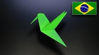 Origami: Pombo Instruções em Português BR
