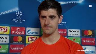 Thibaut Courtois gives honest interview after mistakes in Chelsea