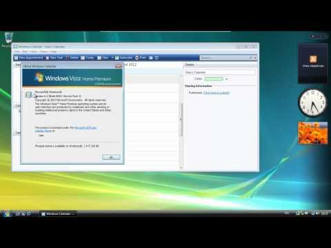 Windows Vista Home Premium SP2 32-Bit