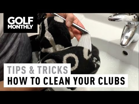 How to clean your golf clubs I Tips & Tricks I Golf Monthly