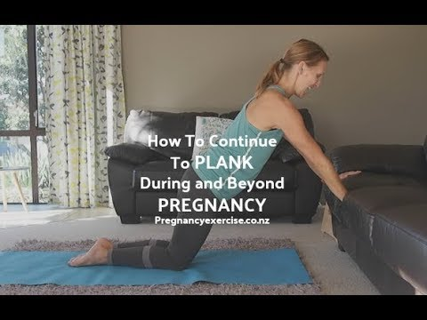 Planks: How To Continue To Plank Pre And Postnatal