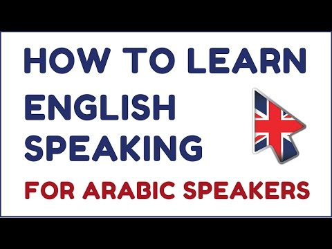 How To Learn English Speaking For Arabic Speakers