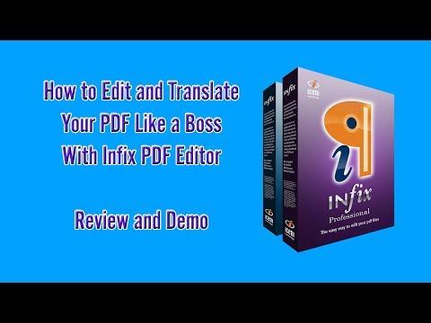 How to Edit & Translate PDF like a BOSS With Infix PDF Editor