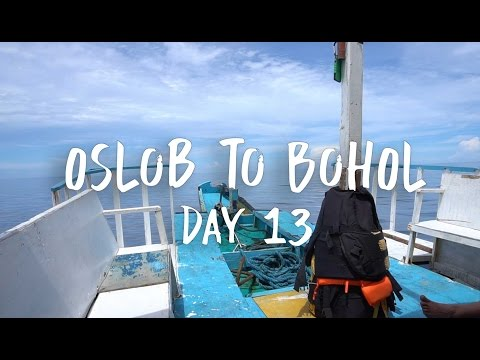 TRYING TO GET FROM OSLOB TO BOHOL.