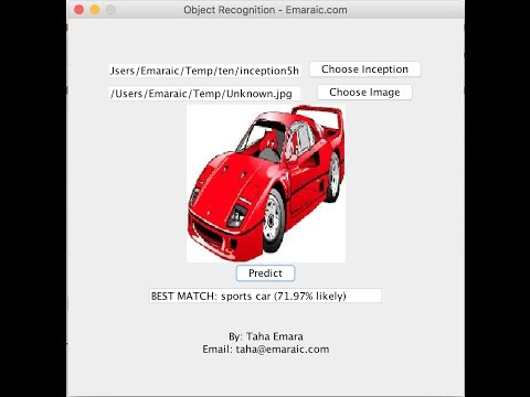 Object recognition using TensorFlow and Java (With Code)