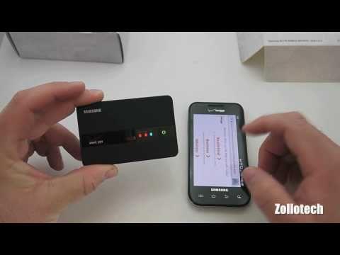 Samsung SCH-LC11 Verizon 4G LTE Hotspot Unboxing