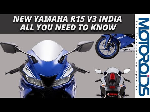 2017 Yamaha R15 V3 India: All You Need to Know Pre-Launch