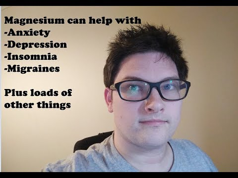 Do you have Anxiety, Depression, Insomnia. Magnesium can help!