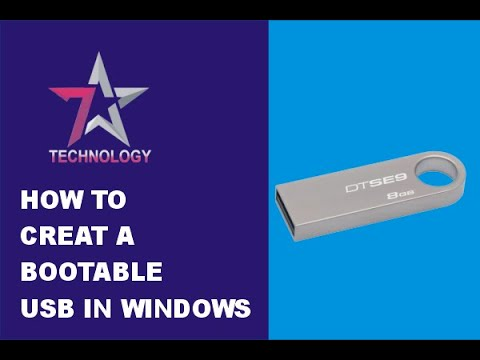 How To Create a Bootable USB Drive to Install Windows 10, 8, 7 in 2018  💽💻🛠️