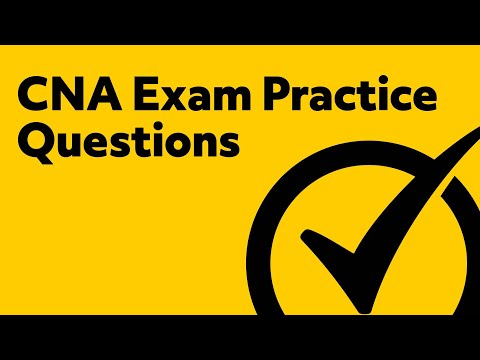 Free CNA Exam Practice Test - Sample Questions from the CNA Certification