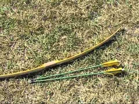 SWC Bamboo backed osage longbow