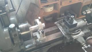 """Giant Automatic Centre Punch pt3 - 1"""" thread cutting pipes"""