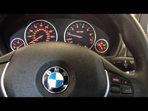 2012 BMW 328i oil level check