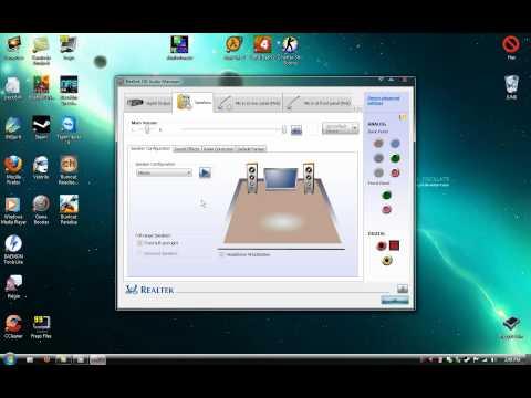 Play Audio with Both Headphones and Speakers using Realtek HD Windows 7 10
