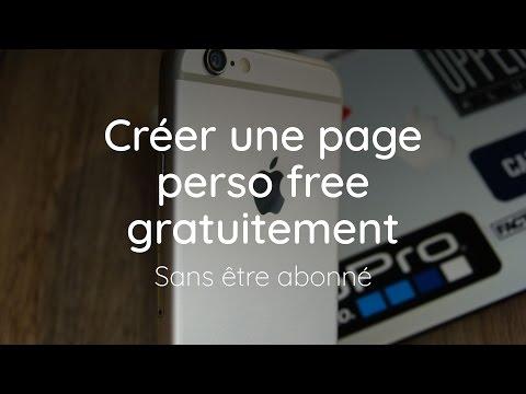 Créer une page perso free gratuitement - Sans être abonné