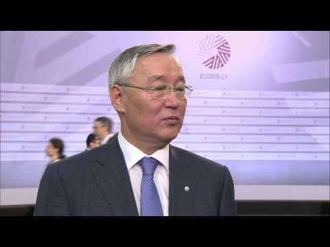 Doorstep by Takir Balykbaev ahead of Meeting of EU and Central Asian Ministers for Education