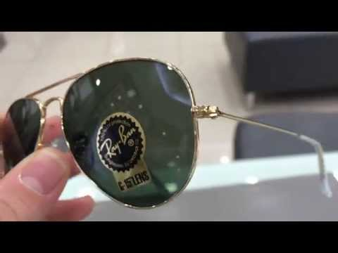 How do you know Ray-Ban Aviator whether the fake