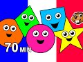Colors And Shapes Kids French Couleurs Et Formes Songs Lesso