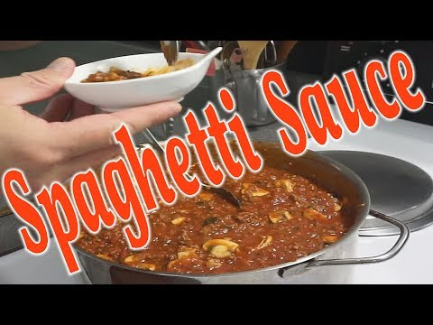 How to Make the BEST Spaghetti SAUCE!!! Awesome RED GRAVY |  PLEASE SUBSCRIBE!!!