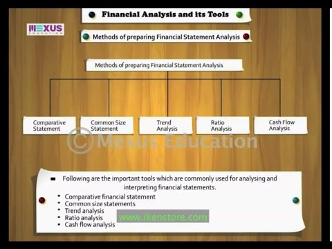 Financial Analysis and its Tools - Iken Edu - CBSE