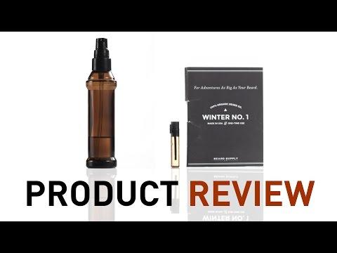 Beard oils: Beard Product Review