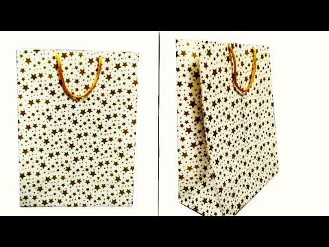 Easy to make gift bag|  Christmas Gift Bag| Shopping Bag | DIY-Easy Gift Bag| Carry Bag