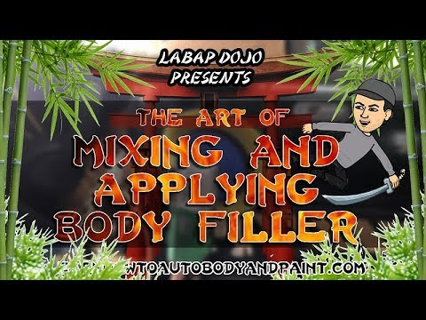 DIY How To Bondo Auto Body Repair (Tips and Tricks) Mix and Apply Body Filler