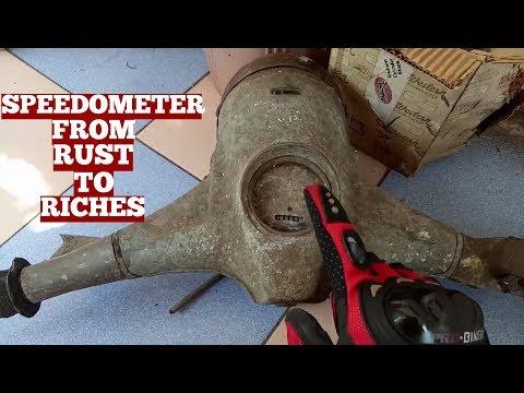 Speedometer Lambretta Scooter-Lambretta Scooter Speedometer Testing After Servicing/Repairing