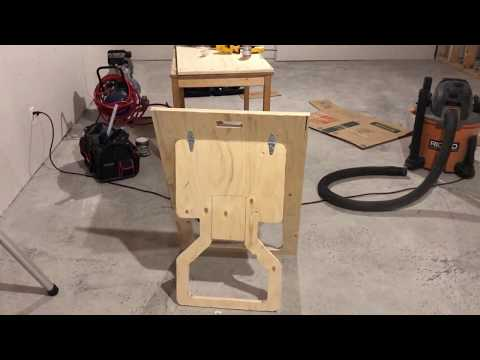 Plywood Sawhorse - lessons Learned
