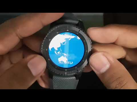How to add World Clock on Samsung Gear S3