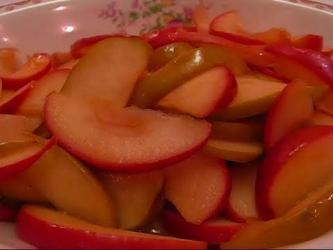 Betty's Honey Apricot Glazed Apples