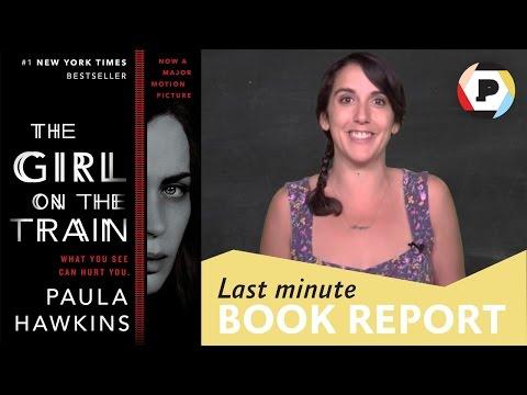 Comedian Giulia Rozzi presents THE GIRL ON THE TRAIN | Last Minute Book Report
