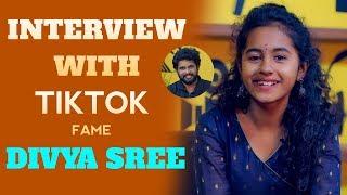 Tik Tok Fame Divya Sree Exclusive Interview   Interview With Tik Tok Stars   Episode 15