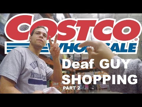 THE DEAF EXPERIENCE | Costco Part 2