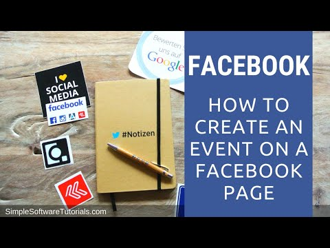Tutorial: How to Create an Event on a Facebook Page
