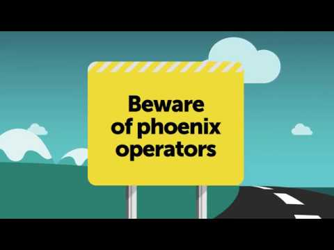 Know the signs of illegal phoenix activity
