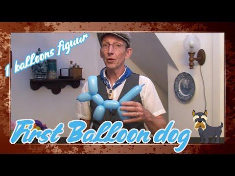 Balloon dog how to make – The Balloon Farmer !