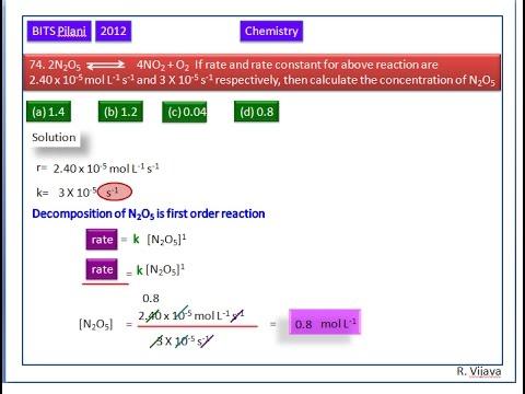 Chemical Kinetics-6- BITS-Pilani-2012(74)
