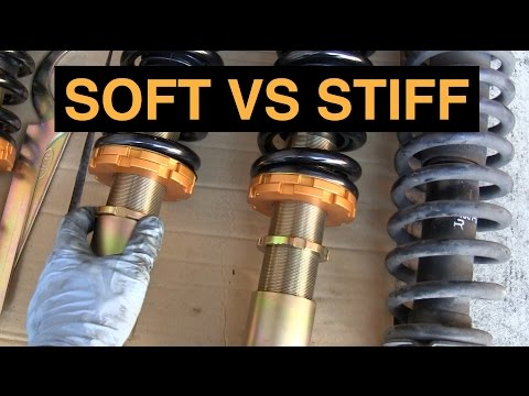 What's The Best Suspension - Soft or Stiff Springs?