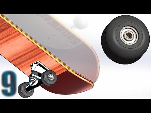 9 SolidWorks |SkateBoard|: Wheel