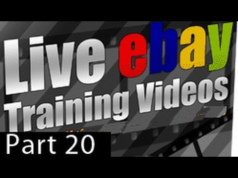 eBay Training Videos - Part 20: How To List An Auction On eBay - Part II