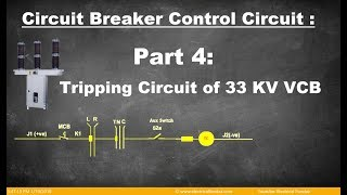 tripping circuit of 33 kv outd