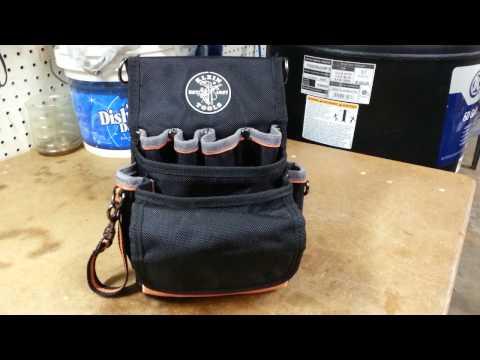 Klein Tools Tradesman Pro Organizer 9-Pocket Tool Pouch Model#5242
