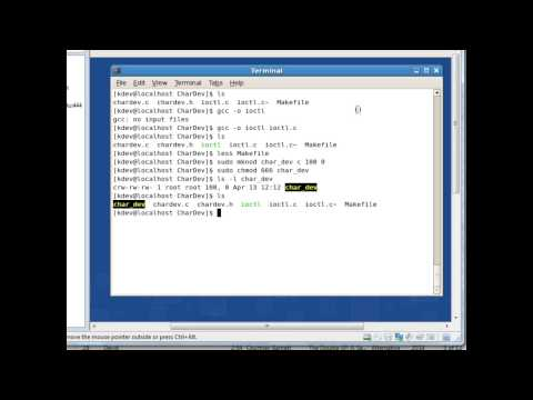 Linux Kernel Modules How-To