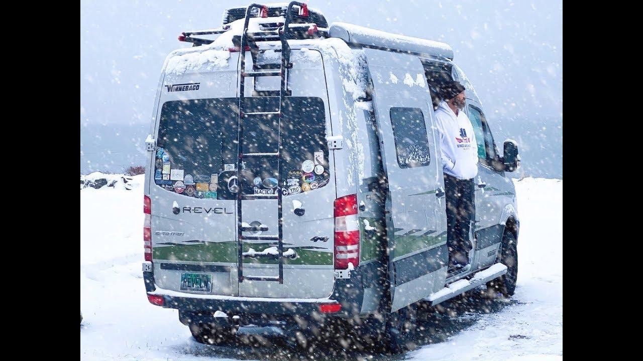 Winnebago Revel 4X4:  Is It Really a 4 Season Van   9 Month Review